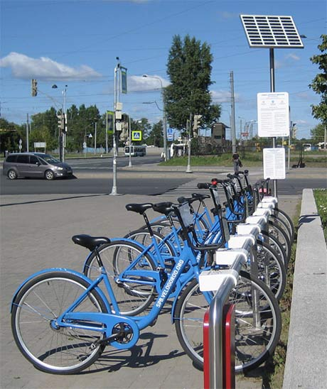 bike rent station