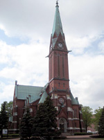 Cathedral in Kotka