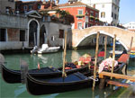 Gondolas now carry only tourists