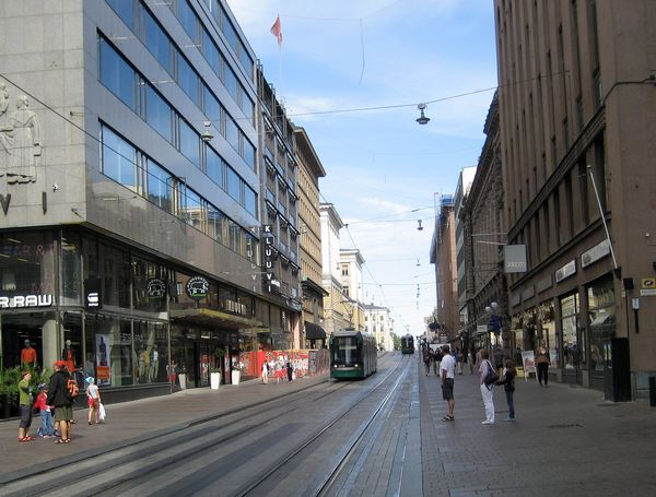 Улица Aleksanterinkatu