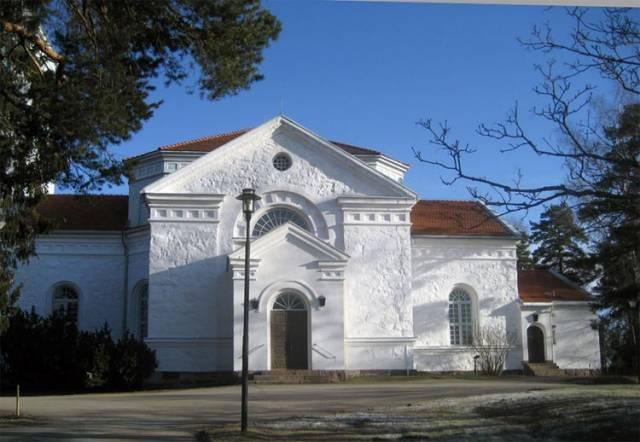 Церковь Kymin kirkko