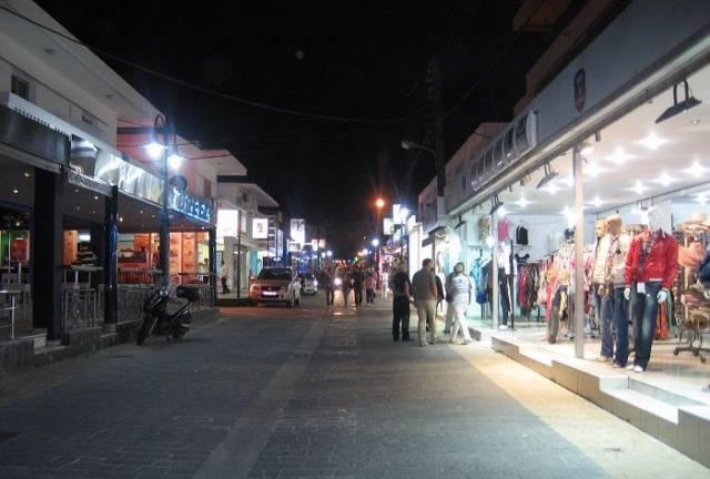 Evening in Faliraki