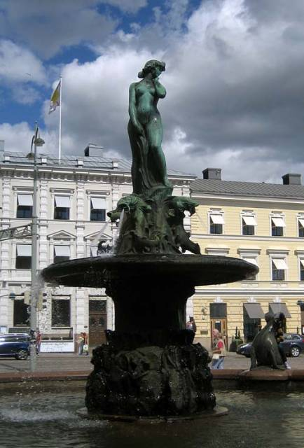 Хавис Аманда в Хельсинки