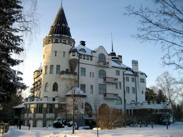 Гостиница  Imatran Valtionhotelli