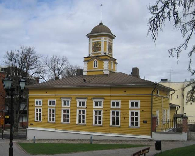 Здание ратуши в городе Лаппеенранта