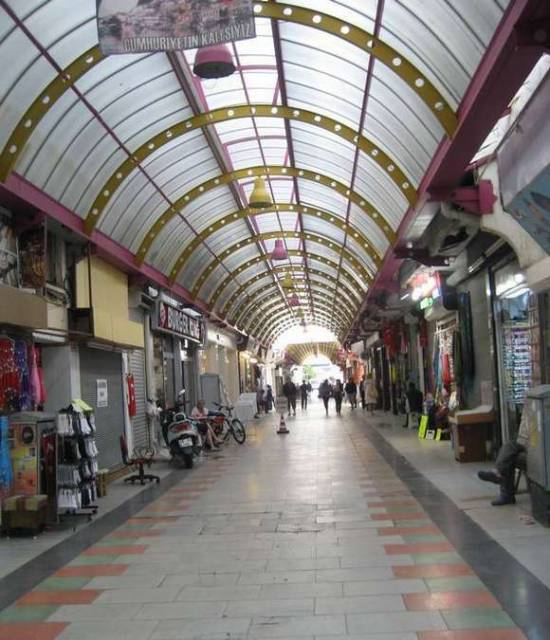 Grand Bazaar in the town of Marmaris