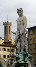 Neptune sculpture photo florence
