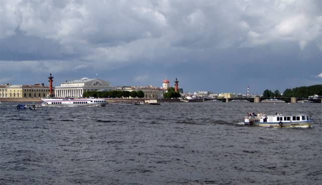The Neva River photo