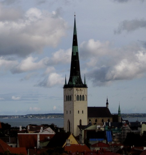 Saint Olaf's Church  in Tallinn