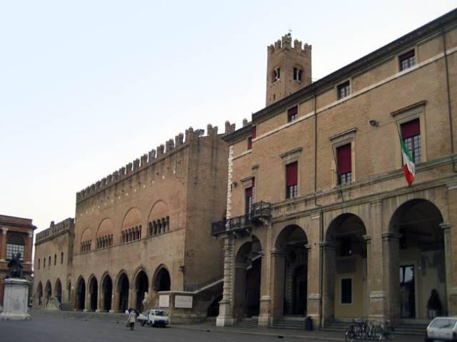 """""""Piazza Cavour""""  square in Rimini"""
