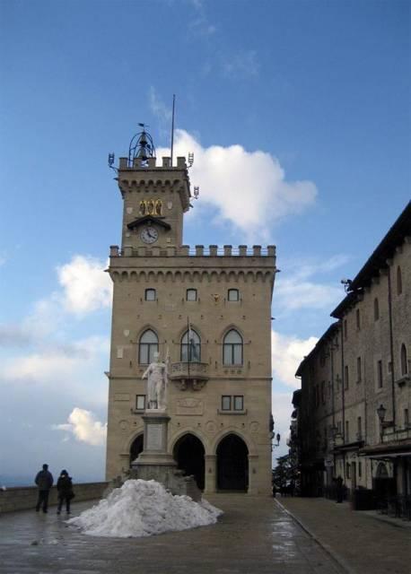 The Palazzo Pubblico of San Marino