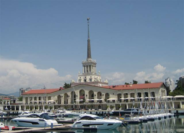 Sea Port of Sochi