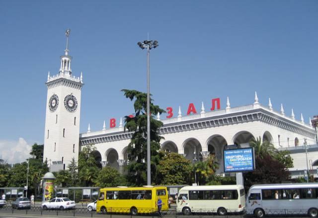 Sotši kaupungin rautatieasema