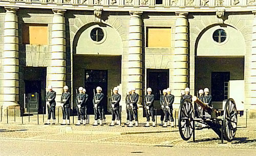 The Royal Guards  at the Stockholm