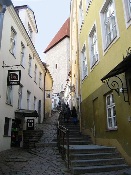 Средневековая улица в Старом городе