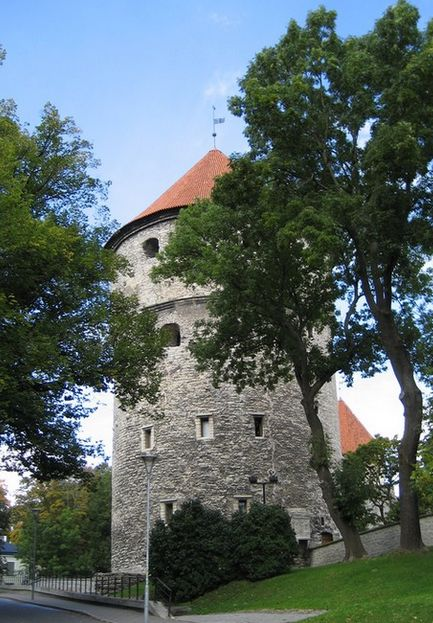 """Kiek in de Kok""  tower in Tallinn"