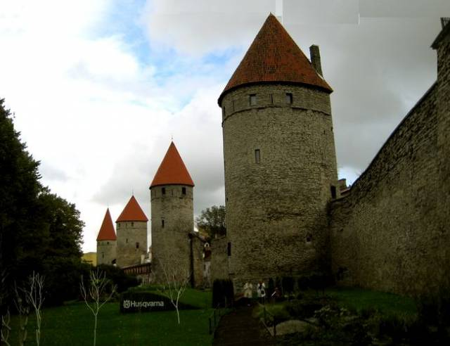 Towers Square in Tallinn