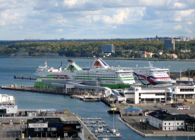 Пассажирский порт в Таллинне