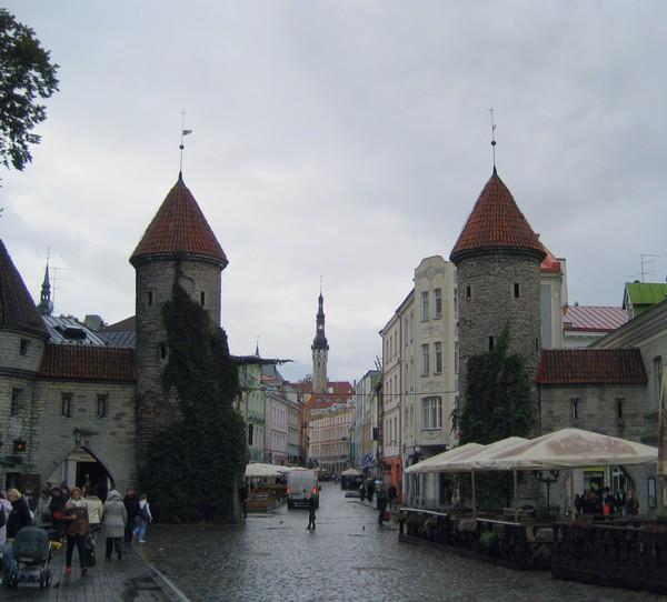 Viru Gate in Tallinn