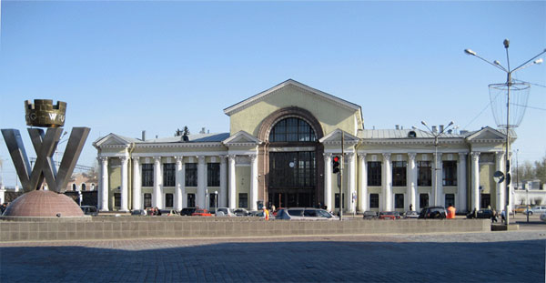 Vyborg train station