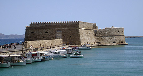 Ancient Venetian fortress in Heraklion