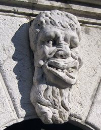 Mascaron in Venice