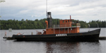 old museum ship in Savonlinna