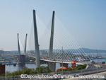 Bridge across the Golden Horn Bay in Vladivostok
