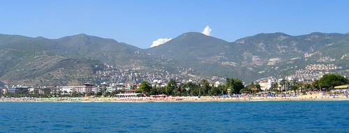 Cleopatra beach in Alanya