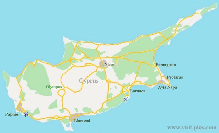 Kypros On Suosittu Lomakohde Valimerella Matkaopas