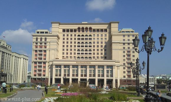 Four seasons Moscow hotelli