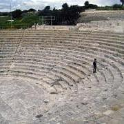 Ancient amphitheater in Cyprus