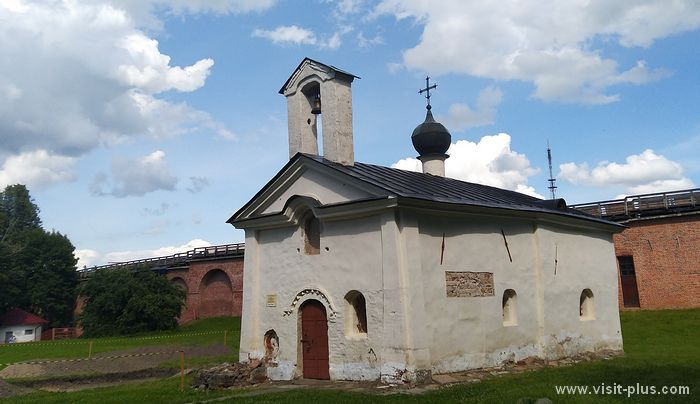 Church of Andrei Stratilat in Novgorod