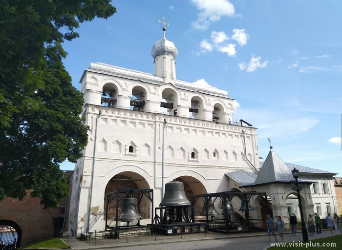 Belfry of St. Sophia Cathedral in Novgorod