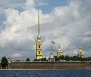 Peter and Paul Fortress   St. Petersburg
