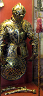 Knightly armor   photo, the Hermitage.