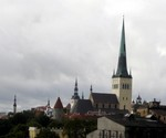 Tallinn old city photo