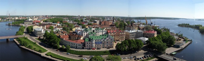 vyborg panorama photo