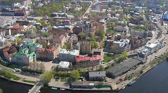 vyborg old city