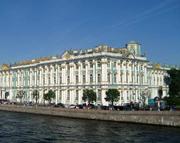 Зимний дворец, вид с Невы фото