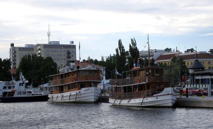 В порту Савонлинна
