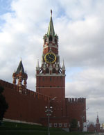 Spasskaya Tower in Moscow
