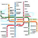 St. Petersburg metro map and useful information
